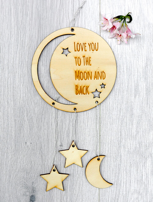 Love you to the Moon Mobile